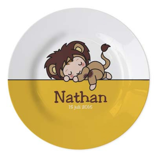 lief geboortebordje met naam en datum - cute plate for newborn with name and date of birth